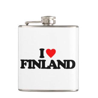 私はフィンランドを愛します フラスク