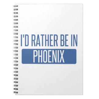 私はフェニックスにむしろいます ノートブック