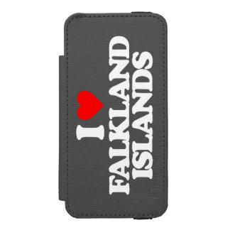 私はフォークランド諸国を愛します INCIPIO WATSON™ iPhone 5 財布 ケース