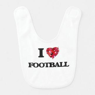 私はフットボールを愛します ベビービブ