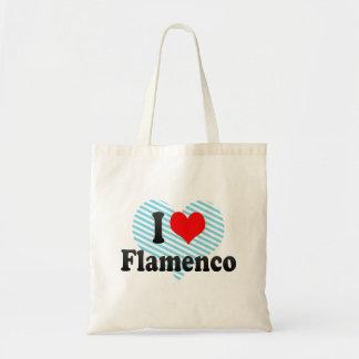 私はフラメンコを愛します トートバッグ