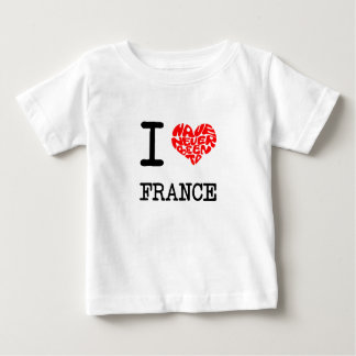 私はフランスに決して行ったことがありません ベビーTシャツ