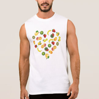 私はフルーツを愛します 袖なしシャツ