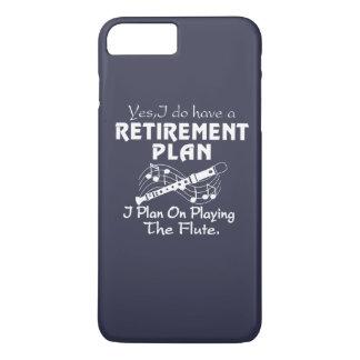 私はフルートの演奏で計画します iPhone 8 PLUS/7 PLUSケース