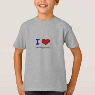 私はフルートを愛します Tシャツ