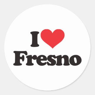 私はフレズノを愛します ラウンドシール