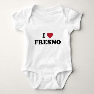 私はフレズノカリフォルニアを愛します ベビーボディスーツ