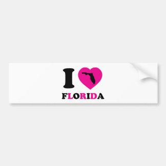 私はフロリダを愛します バンパーステッカー