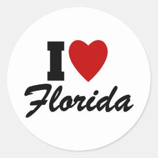 私はフロリダを愛します ラウンドシール