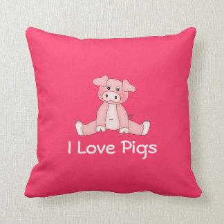 私はブタの枕を愛します クッション