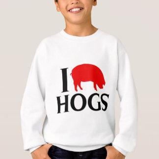 私はブタを愛します スウェットシャツ