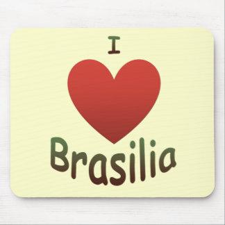 私はブラジリアを愛します マウスパッド