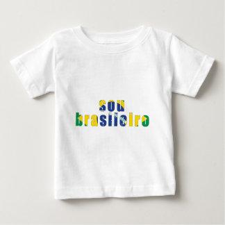 私はブラジルです ベビーTシャツ