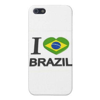 私はブラジルの物を愛します iPhone 5 COVER