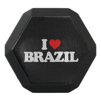 私はブラジルを愛します ブラックBluetoothスピーカー