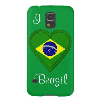 私はブラジルを愛します GALAXY S5 ケース