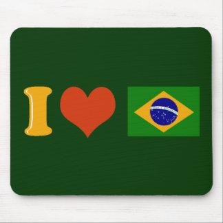 私はブラジル愛します マウスパッド