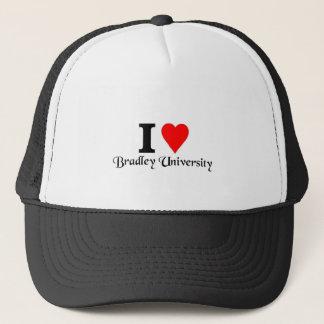 私はブラッドリー大学を愛します キャップ
