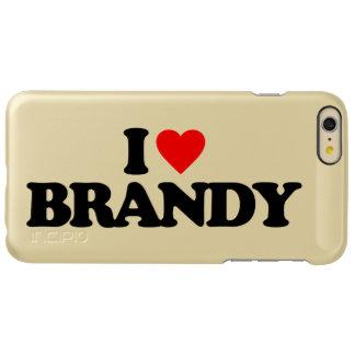 私はブランデーを愛します INCIPIO FEATHER SHINE iPhone 6 PLUSケース