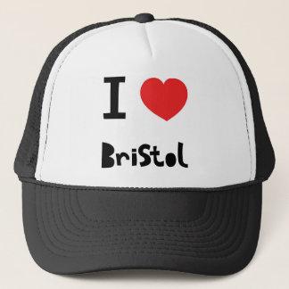 私はブリストルを愛します キャップ