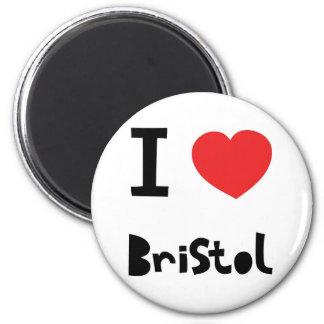 私はブリストルを愛します マグネット