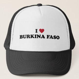 私はブルキナファソを愛します キャップ