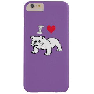私はブルドッグを愛します BARELY THERE iPhone 6 PLUS ケース