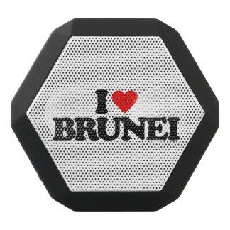 私はブルネイを愛します ブラックBluetoothスピーカー