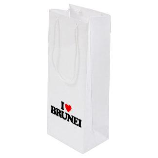 私はブルネイを愛します ワインギフトバッグ