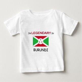 私はブルンディにむしろいます ベビーTシャツ