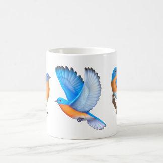 私はブルーバードのコーヒー・マグを愛します コーヒーマグカップ