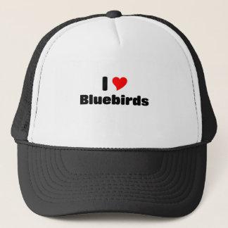 私はブルーバードを愛します キャップ