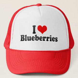 私はブルーベリーを愛します キャップ