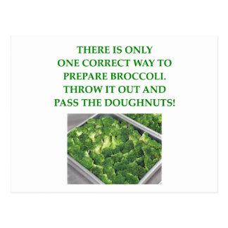 私はブロッコリーを憎みます ポストカード
