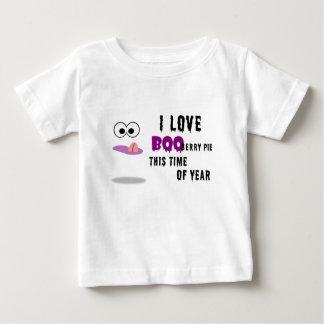 私はブーイング果実パイを愛します ベビーTシャツ
