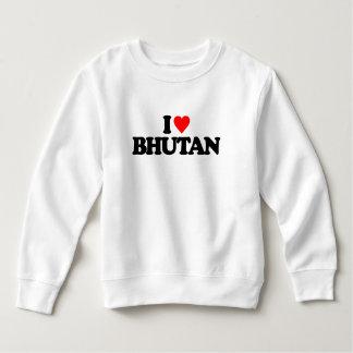 私はブータンを愛します スウェットシャツ
