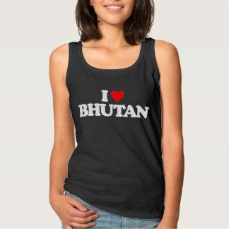 私はブータンを愛します タンクトップ