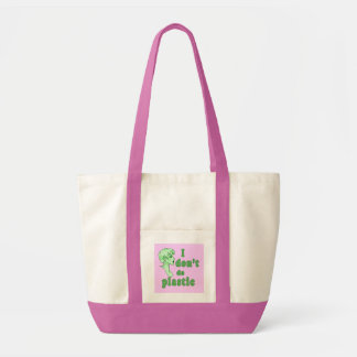 私はプラスチックシックなTotebagsをしません トートバッグ