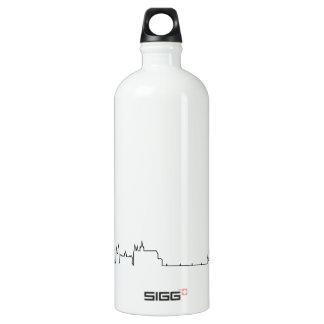 私はプラハ(ecgのスタイル)の記念品を愛します ウォーターボトル