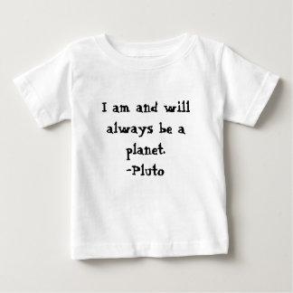 私はプルートであり、惑星です ベビーTシャツ