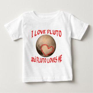 私はプルートを愛し、プルートは私を愛します ベビーTシャツ