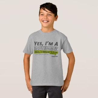 私はプログラマーです Tシャツ