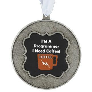 私はプログラマー、私必要としますコーヒーをです! オーナメント