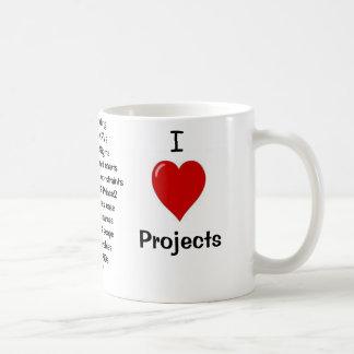 私はプロジェクト-失礼な理由--をなぜ愛します! コーヒーマグカップ