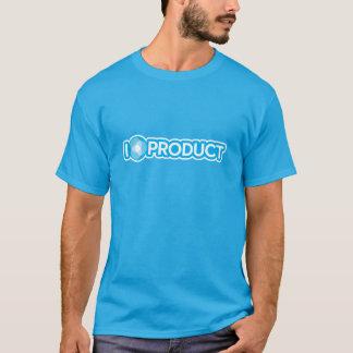 私はプロダクトを愛します Tシャツ