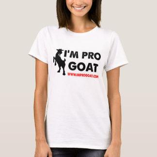 私はプロヤギです Tシャツ