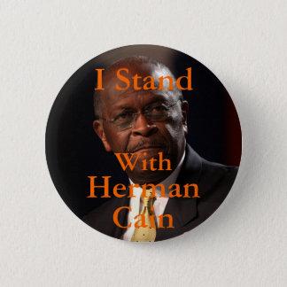 私はヘルマンカインボタンによって立ちます 5.7CM 丸型バッジ