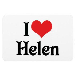 私はヘレンを愛します マグネット