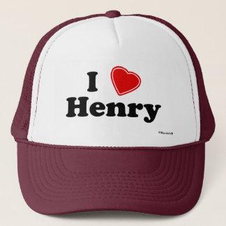 私はヘンリーを愛します キャップ