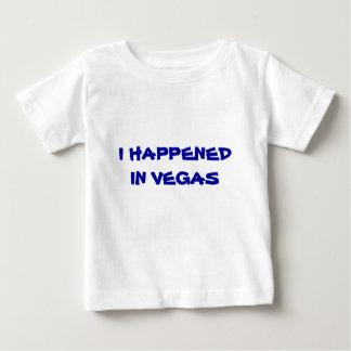 私はベガスで起こりました ベビーTシャツ